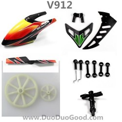WLtoys V912 Helicopter Parts, Canopy, buckle, Gear set, WL-TOYS model V912 rc Heli spare parts, V-912