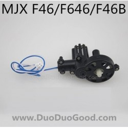 MJX F46 F646 Helicopter parts, Tail motor with wire, mjxr/c F46B I-Heli single Helicopter, F-46 F-646
