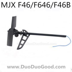 MJX F46 F646 Helicopter parts, Tail motor Set, mjxr/c F46B I-Heli single Helicopter, F-46 F-646