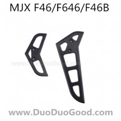 MJX F46 F646 Helicopter parts, vertical and horizontal Tail, mjxr/c F46B I-Heli single Helicopter, F-46 F-646