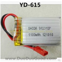 Attop YD-615 Helicopter Parts, 7.4V 1100mAh Battery, Attoptoys RGDS YD615 rc Helicopter Toys