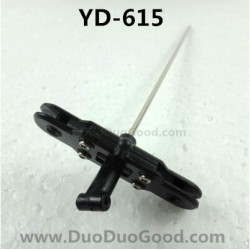 Attop YD-615 Helicopter Parts, Central Axis with Rotor Clip, Attoptoys RGDS YD615 rc Helicopter Toys