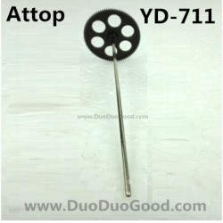 Attop YD-711 Helicopter parts, Lower Gear with shaft, Attoptoys YD711 Avatar fighting plane Aircaft