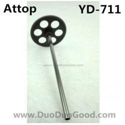 Attop YD-711 Helicopter parts, Upper Gear with Pipe, Attoptoys YD711 Avatar fighting plane Aircaft