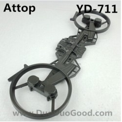Attop YD-711 Helicopter parts, Wings, Attoptoys YD711 Avatar fighting plane Aircaft