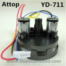Attop YD-711 Helicopter parts, Main motor with Seat, Attoptoys YD711 Avatar fighting plane Aircaft