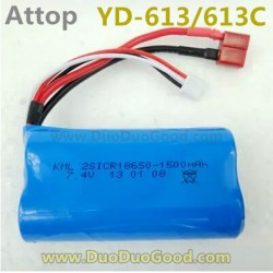 Attop YD-613 Helicopter parts, 7.4V 1500mAh Battery, Attoptoys YD-613C YD613 YD613C RC helicopter accessories