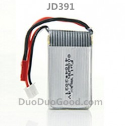 JD391 RC Quadcopter Parts, 7.4V Battery,  JD391V R/C UFO Accessories, JinXingDa JXD391 Remote control helicopter