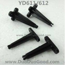 Attop YD-611 YD-612 Helicopter Parts, Fixing for Canopy, attoptoys YD611 YD612 RC helicopter
