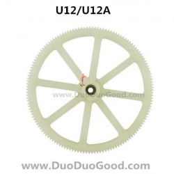 UdiR/C U12 U12A helicopter parts, Upper Gear, Udi rc U-12 heli, Udirc U-12A rc helicopter