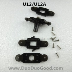 UdiR/C U12 U12A helicopter parts, Upper and lower Rotor Clip, Udi rc U-12 heli, Udirc U-12A rc helicopter
