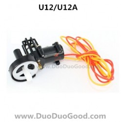 UdiR/C U12 U12A helicopter parts, Tail motor set, Udi rc U-12 heli, Udirc U-12A rc helicopter
