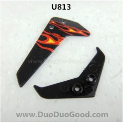 Udir/c U813 Helicopter parts, Vertical and Horizontal Tail, Udi rc toys U-813 remote control Heli