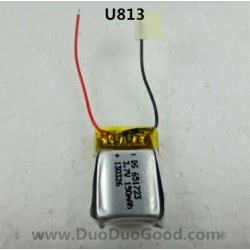 Udir/c U813 Helicopter parts, 3.7V Li-po Battery, Udi rc toys U-813 remote control Heli