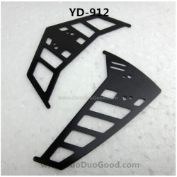 Attop YD-912 RC helicopter parts, Vertical and horizontal Tail, attoptoys YD912 2.4G remote control helicopter