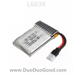Lishitoys L6038 Quadcopter parts, Li-po Battery, Lishi toys L-6038 remote control Quad UFO
