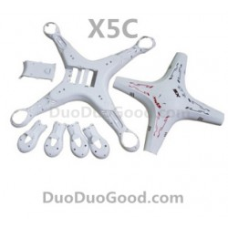 SyMa X5C Quadcopter Parts, Body Frame and Shell, X5 Remote control helicopter, RC UFO, Explorers 2.4G 4ch 6 axis