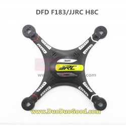 DFD F183 RC quadrocopter, Top Cover black, JJRC H8C UFO