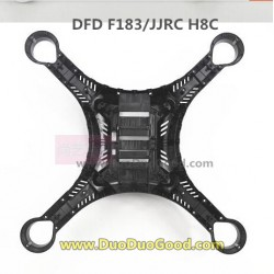 DFD F183 quadcopter parts, Lower Cover black, JJR/C H8C quad