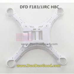 DFD F183 RC quadrocopter, Lower Cover white, JJRC H8C QUAD