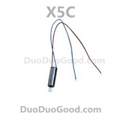 SyMa X5C Quadcopter Parts, Motor Blue and Red wire, X5 Remote control helicopter, RC UFO, Explorers 2.4G 4ch 6 axis