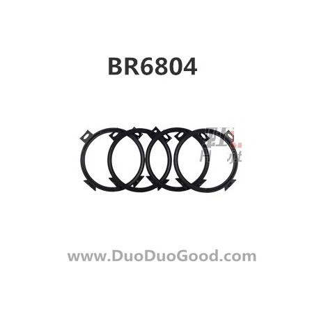 1485 Borong Br6804 Rc Quadcopter Protect Ring Bo Rong Br 6804 Ufo on model helicopter product