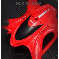 MJXR/C X-Series X400 Quadcopter, Cover Red, MJX RC X-400 UFO