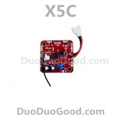 SyMa X5C Quadcopter Parts, Receiver Board, PCB, X5 Remote control helicopter, RC UFO, Explorers 2.4G 4ch 6 axis