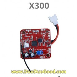 MJX RC X-Series X300 FPV 2.4G quadcopter parts, PCB Board, X-300 UFO