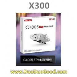 MJX RC X-Series X300 FPV 2.4G quadcopter parts, C4005 HD Camera, X-300 UFO