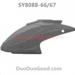 SY8088-67 RC Helicopter Parts, Head Cover, Nose, SongYang SY-8088-67, Remote control Helikopter Accessories
