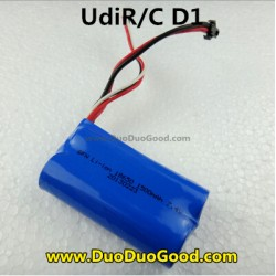 UdiR/C D1 2.4G Control Helicopter Parts, 1500mAh Battery, Udi Helikopter