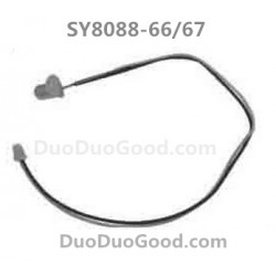 SY8088-66/67 RC Helicopter Parts, Head LED Light, SongYang SY-8088-66, 8088-67, Remote control Helikopter Accessories