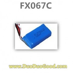 Feiluntoys FX067C 2.4G Flybarless helicopter parts, Battery, Feilun 6-Aaxis copter