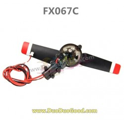 Feiluntoys FX067C 2.4G Flybarless helicopter parts, Tail motor set, Feilun 6-Aaxis copter
