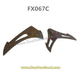 Feiluntoys FX067C 2.4G Flybarless helicopter parts, vertic and horizontal Tail, Feilun 6-Aaxis copter