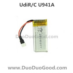 Udir/c NANO RX 4 U941A Quadcopter parts, 3.7V Battery, 3d flying 2.4Ghz UFO