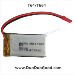 MJX R/C T64 T664 FPV Helicopter Parts, 1200mAh Battery, 2.4G RC Helikopter