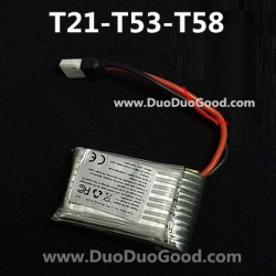 MJX T-Series T53 RC helicopter Parts, Lipo Battery, T653 3CH small Helikopter