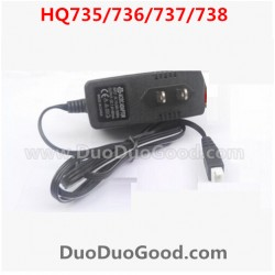 HQ738/hq737/hq736/hq735 rc Car Parts, US Plug Charger, Hqtoys hq-738 HuanQi remote control Car