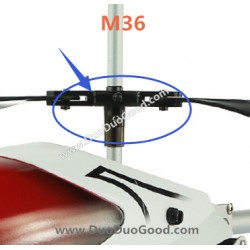 Skytech M36 RC Helicopter Sparts Parts, Under Blades clip, 3.5CH big Helikopter