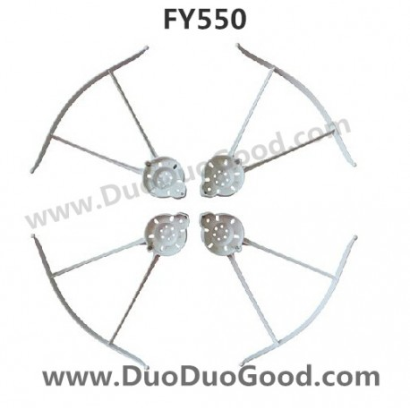 1905 Fayee Fy550 Quadrocopter 24g Four Rotor Flying Saucer Protect Ring on model helicopter product