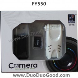 FAYEE FY550 Quadrocopter 2.4G FOUR-ROTOR flying saucer, HD Camera 200W Pixels