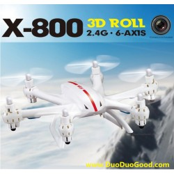 MJX R/C X-series X-800 Quad-copter, X800 2.4G 3D roll, can Upgrade for FPV