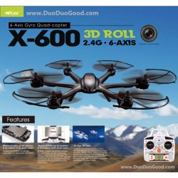 MJX X600 Quad-copter, X-600 Quadrocopter 2.4G 6-Axis 3D Roll