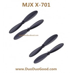 MJX X-701 Quad-copter parts, Main Blades black, X-Series 2.4G 3D Roll X701 UFO