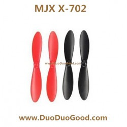 MJX R/C X-702 Quad-copter, Main Blades Black and Red, X-series X702 2.4G MINI UFO