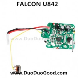 Udi FALCON U842 Quad-copter parts, PCB Board, UdiR/C U-842 Quadrocopter-01