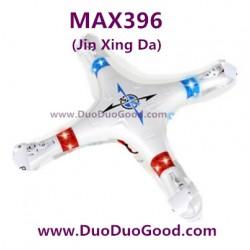 Jin Xing Da MAX396 Quad-copter parts, Top Shell, NO.396 R/C Quadrocopter 2.4G-01