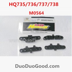 HQ735 HQ736 HQ737 HQ738 rc Car Parts, Arm Holder 4PCS, Hqtoys hq-738 HuanQi remote control Car,M0564